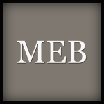 MEB Moda logotipo