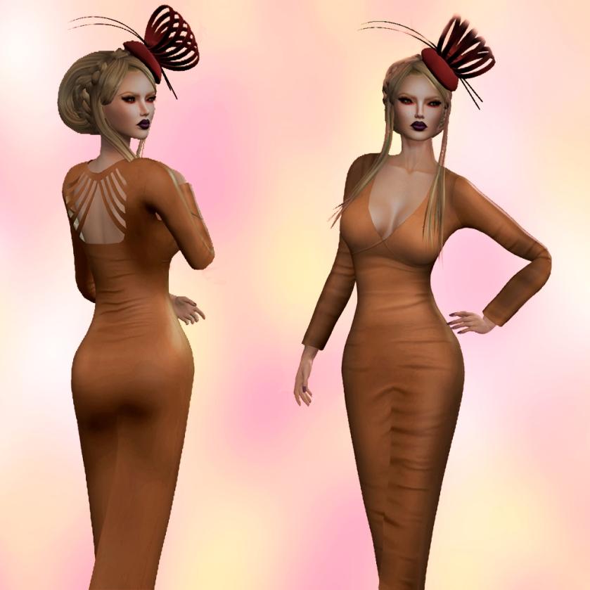 TOPAZIA-  CLAIRE DRESS &  PHOEBE HAT