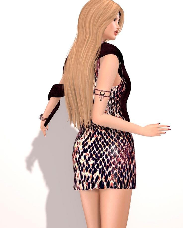 (BYRNE) Sysperia Dress -RUST.