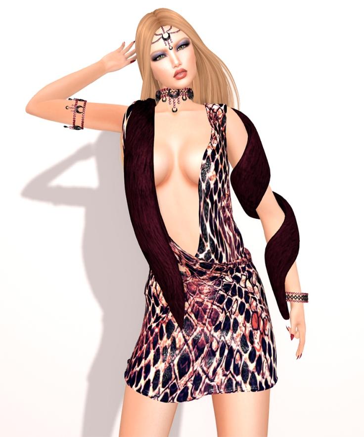 (BYRNE) Sysperia Dress -RUST