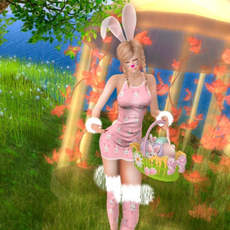 It's Gau Easter Bunny