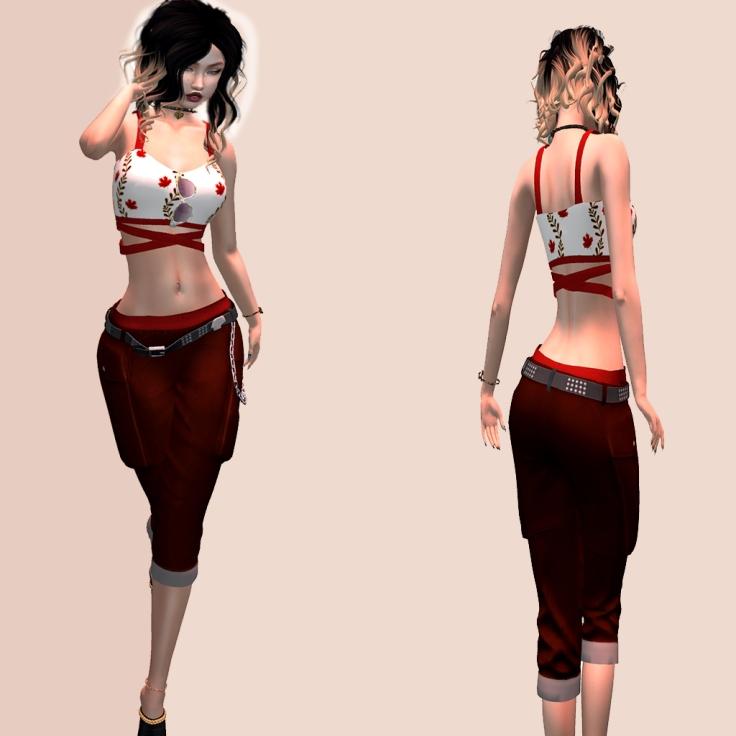 SnB Fashion - Karina Top & Capri Pants